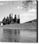 Bethlehem Steel Canvas Print by Michael Dorn