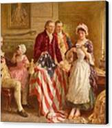 Betsy Ross 1777 Canvas Print