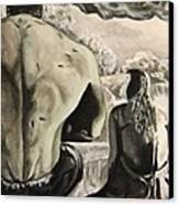 Bettie's Hulk Canvas Print by Al  Molina