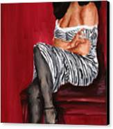 Betty Page 2 Canvas Print