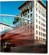 Beveryly Hills Two Canvas Print