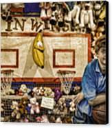 Beware The Smiling Banana  Canvas Print by Bob Orsillo