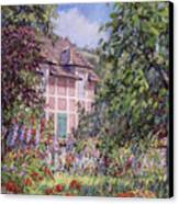 Beyond The Garden Canvas Print