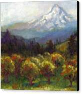 Beyond The Orchards Canvas Print