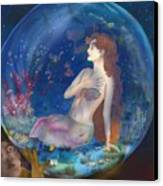 Beyond The Sea Canvas Print by Sydne Archambault