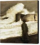 Biarritz 1909 Canvas Print