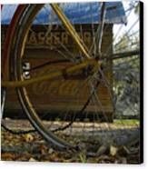 Bicycle At Micanopy Canvas Print