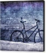 Bicycle Canvas Print by Evelina Kremsdorf