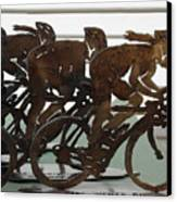 Bicycle Trophies Canvas Print