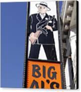 Big Al Canvas Print by Denise Pohl