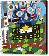 Big Brother Canvas Print by Rojax Art