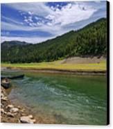 Big Elk Creek Canvas Print by Chad Dutson