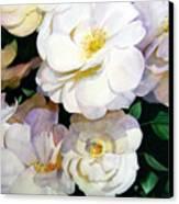 Big Floral Canvas Print