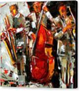 Big Jazz Canvas Print