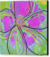 Big Pop Floral IIi Canvas Print by Ricki Mountain
