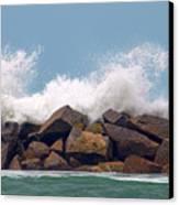 Big Splash Canvas Print by Dan Holm