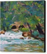 Big Spring On The Current River Canvas Print