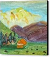 Big Valley Canvas Print
