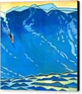 Big Wave Canvas Print by Douglas Simonson
