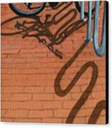 Bike And Bricks No.2 Canvas Print
