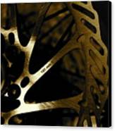 Bike Brake Canvas Print by Angie Wingerd