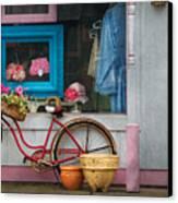 Bike - Lulu's Bike Canvas Print