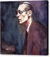 Bill Evans - Blue Symphony Canvas Print