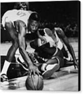 Bill Russell (1934- ) Canvas Print by Granger