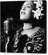 Billie Holiday Canvas Print by Everett