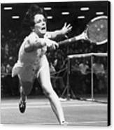 Billie Jean King Canvas Print by Granger