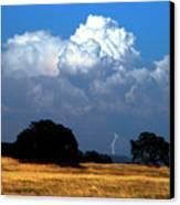 Billowing Thunderhead Canvas Print by Frank Wilson