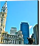 Billy Penn Canvas Print by Brynn Ditsche