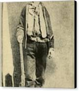 Billy The Kid 1859-81, Killed Twenty Canvas Print