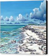 Bimini Breeze Canvas Print by Danielle  Perry