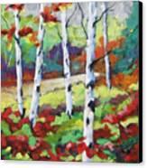 Birches 07 Canvas Print
