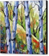 Birches 09 Canvas Print