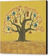 Bird Houses 01 Canvas Print