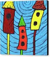 Bird Neighbors Canvas Print