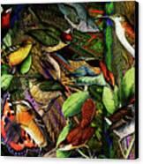 Birdland Canvas Print by Joseph Mosley