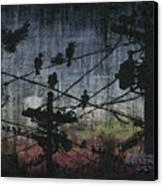 Birds 2 Canvas Print by Arleana Holtzmann