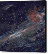 Birth Of A Galaxy Canvas Print by Elizabeth Lane