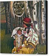 Birth Spirit Canvas Print