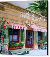 Bistro Jeanty Napa Valley  Canvas Print by Gail Chandler