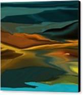 Black Hills Abstract Canvas Print by David Lane