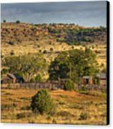 Black Mesa Ranch Canvas Print by Charles Warren