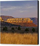 Black Mesa Sunrise Canvas Print by Charles Warren