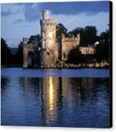Blackrock Castle, River Lee, Near Cork Canvas Print by The Irish Image Collection