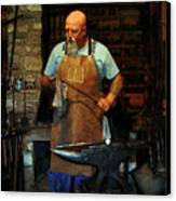 Blacksmith Canvas Print by Kim Michaels