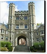 Blair Hall Princeton Canvas Print by John Greim