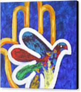 Blessings Of Peace Canvas Print by Mordecai Colodner